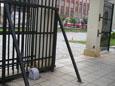Posuvná brána s pohonem
